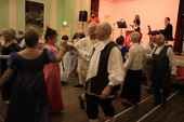 Wednesday evening folk dancing at Holloway 4