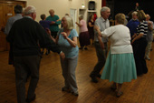 Wednesday evening folk dancing at Holloway 1