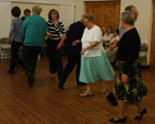Wednesday evening folk dancing at Holloway 7