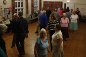 Wednesday evening folk dancing at Holloway 8