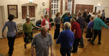 Wednesday evening folk dancing at Holloway 9